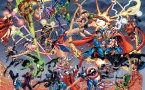 Warner Bros. Announce DC Slate, 31 Superhero Films Between 2015 and2020